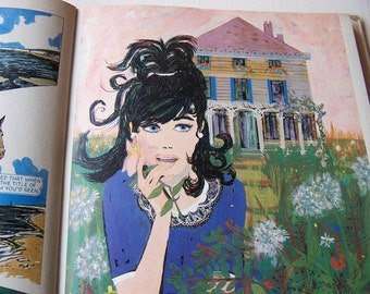 Vintage Judy Album 1967, Girls Annual, Comic Strip, Published 1966, D C Thomson, 50th Birthday Gift for 2017.