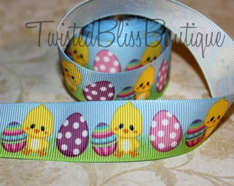 Easter 7/8 Grosgrain Ribbon -R1500-