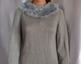hand knited sweater