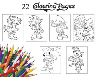 """Shop """"sonic the hedgehog"""" in Drawing & Illustration"""