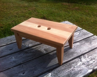 Birch Step Stool Solid Hardwood