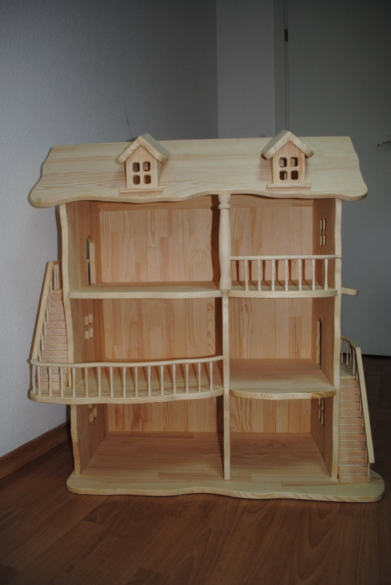 Viktorianisches Puppenhaus Holz ~ Puppenhaus Holz Puppenhaus Holz Puppenhaus von TaleWood auf Etsy