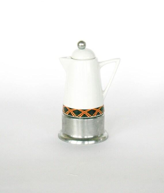 One Cup Ceramic Coffee Maker : Vintage MIMi Espresso Maker / Coffee Maker G.A.T. Porcelain