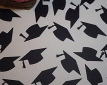 Graduation Cap Die Cuts - Graduation Die Cuts - Choose Confetti or large die cuts - Custom Orders Welcome!