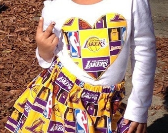 LA Lakers Short and Long Sleeved Outfit, lakers baby, lakers kids, lakers gift, lakers outfit, lakers onesie, Kobe Bryant shirt