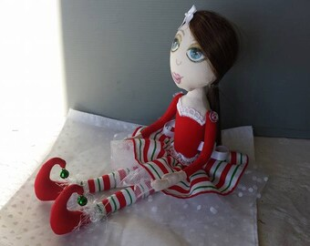 Christmas Punk Doll