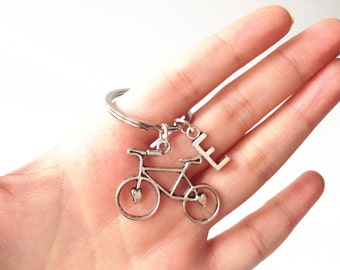 bike keychain,bicycle keychain,cycling gifts,Gift For Cyclist