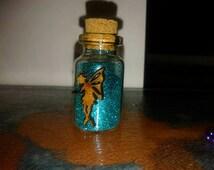 turqoise fairy dust with fairy guardian