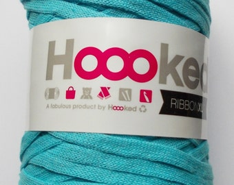 Hoooked RibbonXL, sea blue, 120m per roll (0,08 Euro/m)