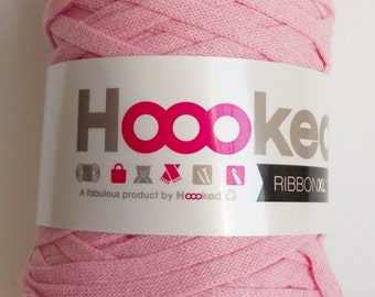 Hoooked RibbonXL, rose, 120m per roll (0,08 Euro/m)