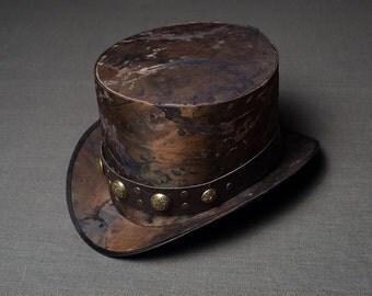 Steampunk Wedding Hat Victorian Top Hat Mens Hats Womens Hats Mad Hatter Hat Alice in Wonderland Hat Steam Punk Hat Cosplay Personalized Hat