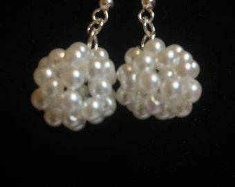A ball of bead earrings