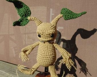 Mandrake doll - Crochet Mandrake root