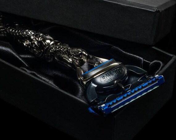 Luxury Eternity Gillette Fusion Proglide Razor Skull Snake