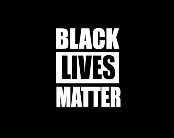 Black Lives Matter, All Lives Matter, Pray for Dallas, Yeti decal, car decal, #blacklivesmatter, black lives matter car decal