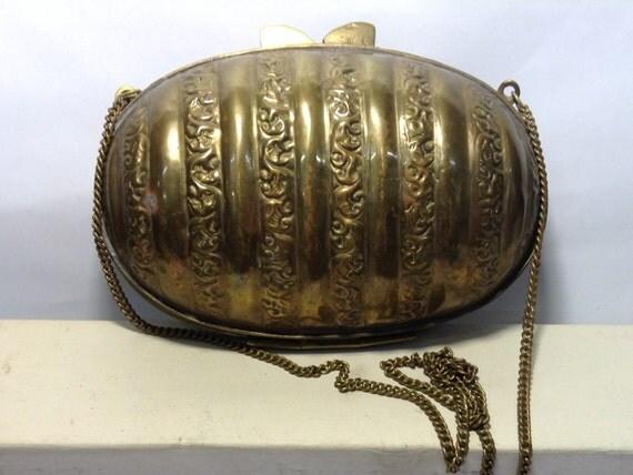 Vintage Brass Purse 5