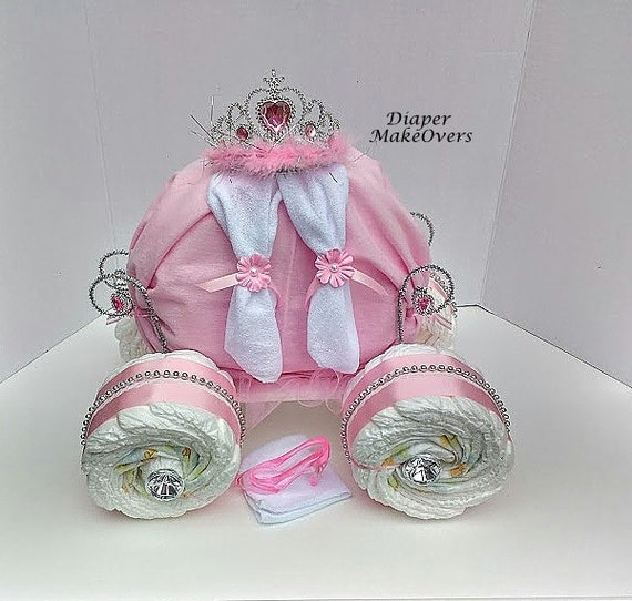 Baby Girl Carriage Cakes