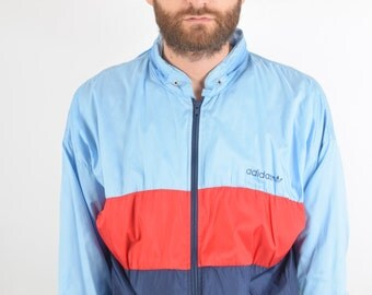 Vintage Adidas Jacket/Track top Size XL 90'S (1501)