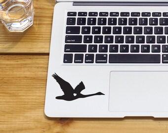 Goose Sticker Flying Goose Decal Laptop Goose Sticker Vinyl Decal Sticker