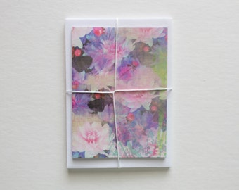stationary cards, bridesmaid gift, stationery set, note cards, note card set, modern stationary, floral stationery, floral note cards, cute