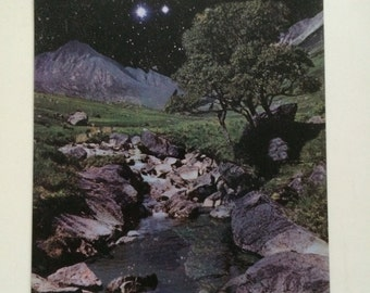 Large feature fridge magnet, 'Starry, Starry Night'.