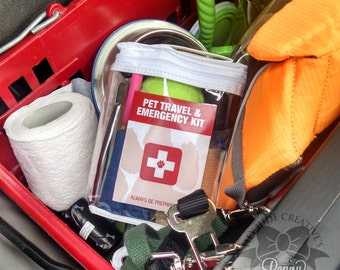 Pet Travel and Emergency Kit