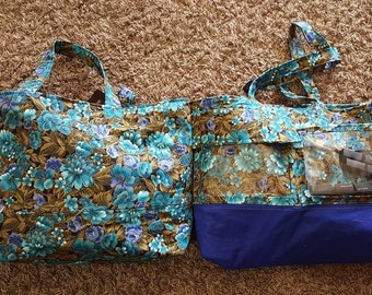 2 Custom Display Tote Bag/Purse Set