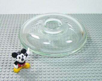 Oval glass vase single-flower vase design Circa 1980