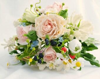 """Bridal Bouquet Charm - """"Aphrodite"""", Wedding Flowers, supplies, keepsake bouquet, wedding bouqet charm, Bouquets"""