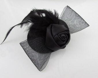Fascinator, Fascinator Hair Clip, Party Head Piece
