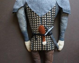 The Hound - Sandor Clegane Games of Thrones plush doll ASOIAF