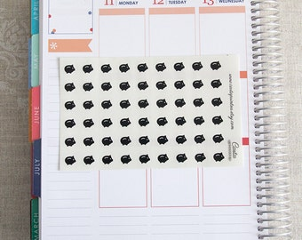 54 money saving stickers, savings tracker, transparent clear stickers, planner stickers, piggy bank eclp filofax happy planner kikkik