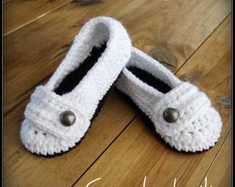 PATTERN PDF #007--Cute women slippers