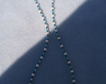 Turquiose and Pearl Drops