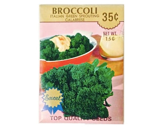 BROCCOLI seed packet