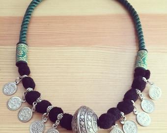 Ethnic necklace boho