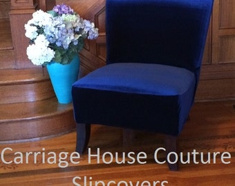 Parson Chair Slipcover Etsy