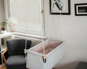 Hanging cradle for your baby