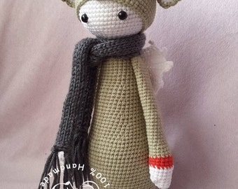 Lalylala Dirk The Dragon Amigurumi doll