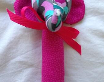Handmade Elephant Rattle