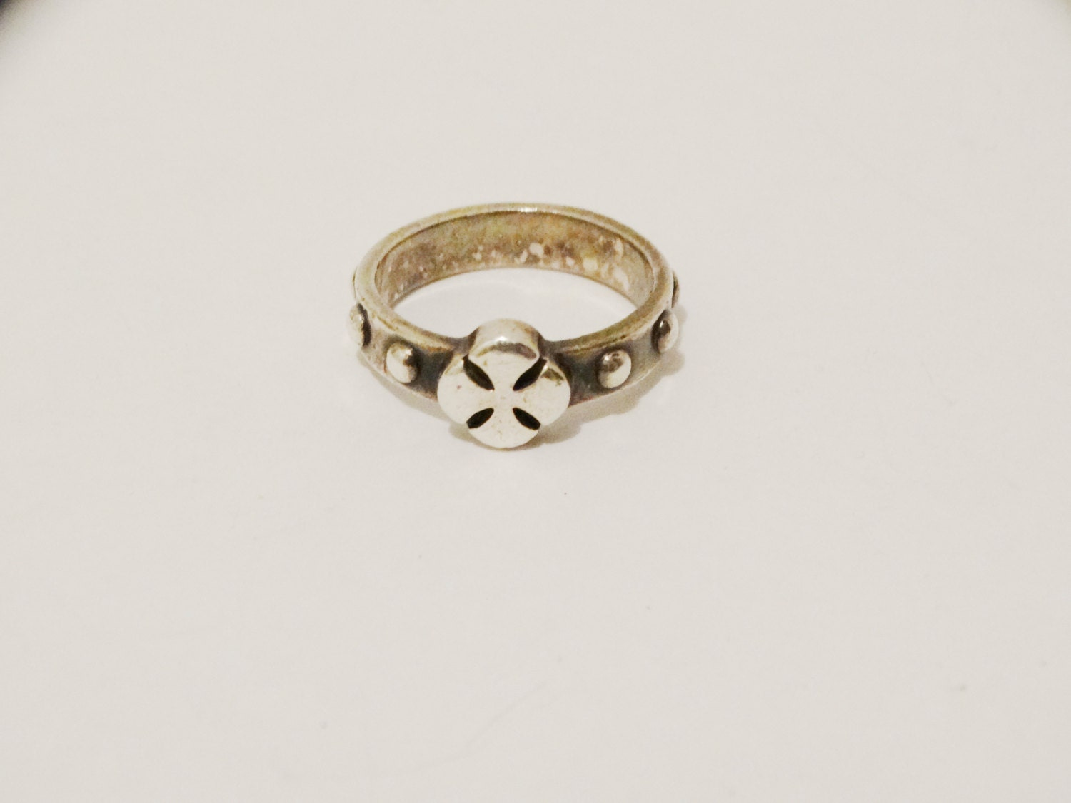 James Avery Cut Out Cross Ring