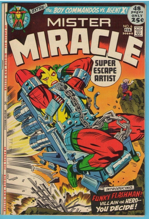 Mr. Miracle 6 Feb 1972 VF-NM (9.0)