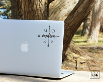 Explore more - Laptop Decal - Laptop Sticker - Macbook Decal - Adventure Decal - Car Sticker - Car Decal - Bumper Sticker