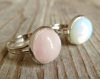 Ring Set Semi Precious Stone