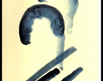 """Georgia O'Keeffe, Southwestern Art, Georgia O'Keefe, O'Keefe Print, Georgia Okeefe, New Mexico, """"Blue #4"""""""