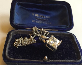 Vintage Silver Necklace stunning piece