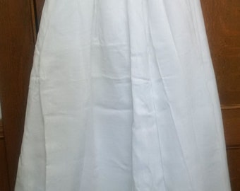 Crinoline Long Linen Layered Slip 6 layers!