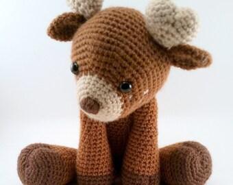 Deer - Crocheted Plush
