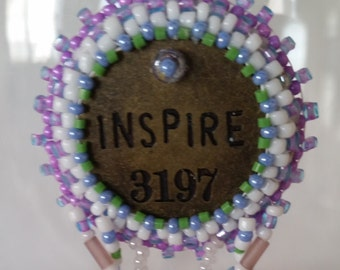 Inspire Bead Embroidery Necklace - 01IN55