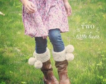 Adeline Boot Cuffs (Crochet Pattern)